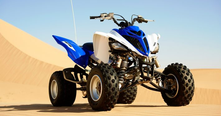 yamaha 700cc raptor ساخت کشور ژاپن دنده ای